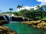 El - Nicho Waterfalls