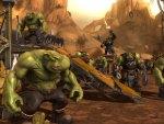 Warhammer Orks camp