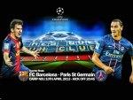 FC Barcelona - Paris St Germain Champions League 2013