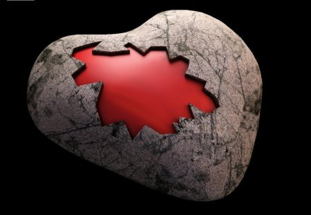 Hardened Heart - 3D and CG & Abstract Background Wallpapers