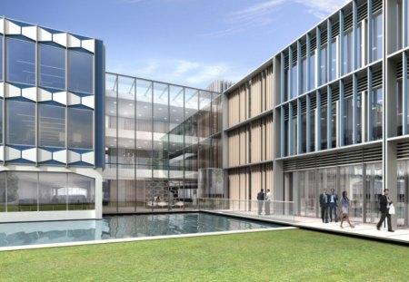 Modern Campus - Modern & Architecture Background ...