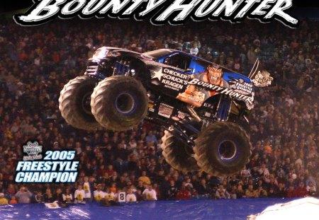 Bounty Hunter Monster Truck Photography Abstract Background Wallpapers On Desktop Nexus Image 142369