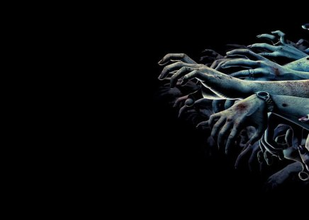 EVIL HANDS - black wallpaper, entertainment, evil, abstract, other