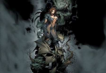 Witchblade - female, heroes, girl, witchblade, comics, lady, woman, topcow
