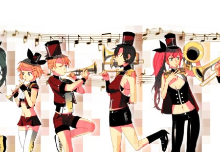 Vocaloid Marching Band Other Anime Background Wallpapers