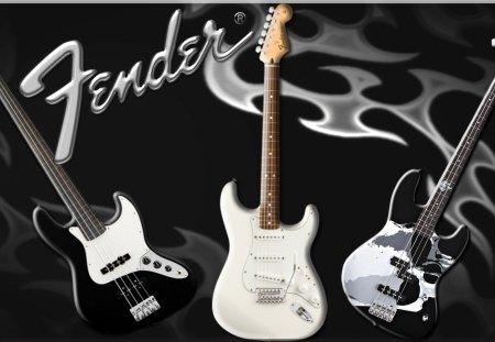 Fender Bass Guitar Music Entertainment Background