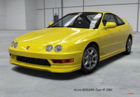 Acura Integra Type R 2001 Xbox Video Games Background