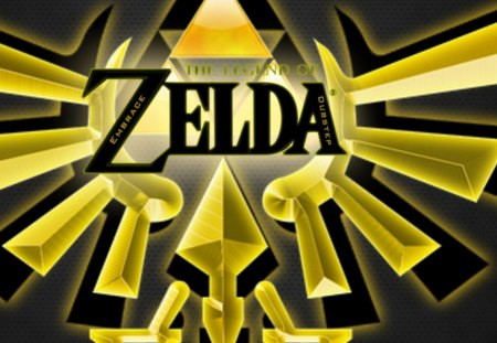 triforce - courage, force, zelda, determination