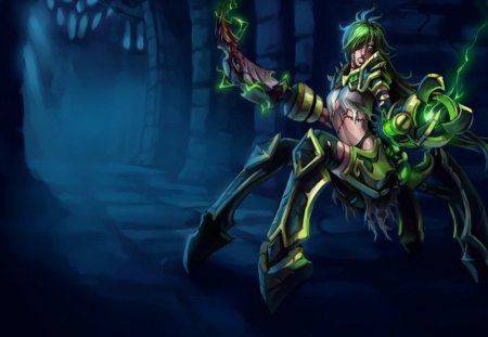 Lol Mulher Do Urgot Other Anime Background Wallpapers
