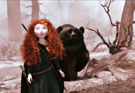 Brave (2012) - Movies & Entertainment Background Wallpapers on