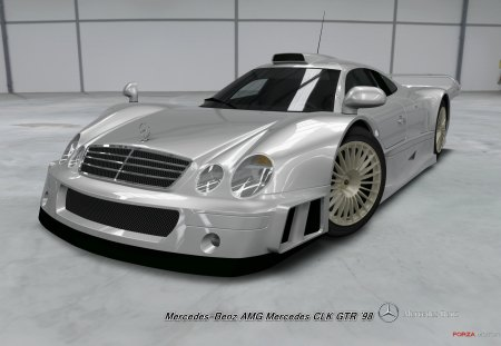 Mercedes Benz Amg Mercedes Clk Gtr 98 Xbox Video Games