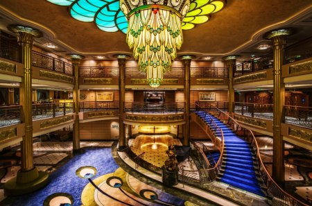 Disney Cruise Ship Interior