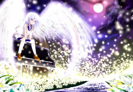 Angel Beats - Ah My Goddess & Anime Background Wallpapers on