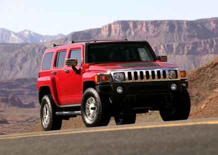 hummer H3 - hummer H3, mountain, fun, car