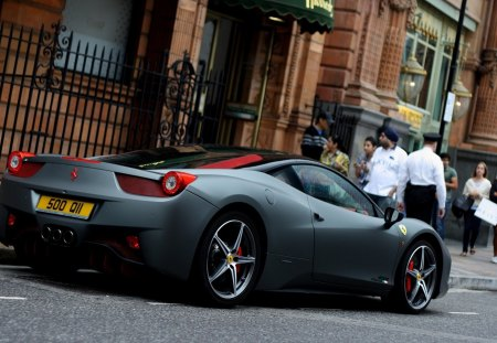 458 Italia - Speed, Roadster, Power, Furious