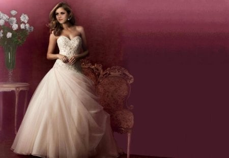 Kristen Stewart - Kristen Stewart, Kristen, model, actress, wedding dress, beautiful, Stewart