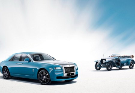 2013 Rolls Royce Ghost Alpine Trial Centenary Edition - Classic, New, Blue, Rolls Royce