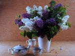 Tea with Lilacs