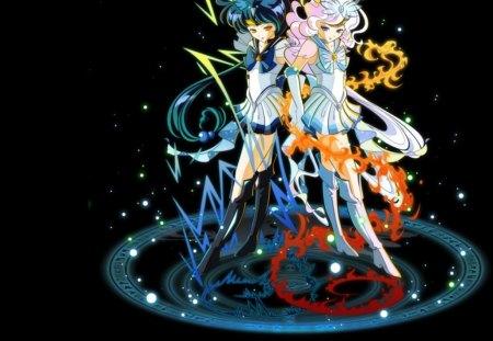 View Anime Lightning Girl  Wallpapers
