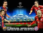 FC Barcelona - Bayern Munich champions League 2013