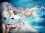 ~White Labrador~