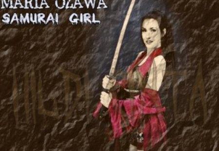 Samurai Girl - Maria Ozawa - sexy japanese, maria ozawa lover, sexy samurai, maria ozawa, samurai girl, samurai girl maria ozawa