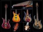 beautiful bass guitars