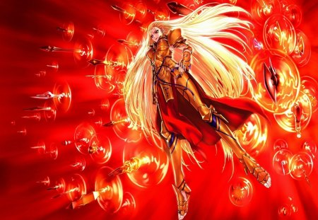 Female Gilgamesh Fate Stay Night Anime Background