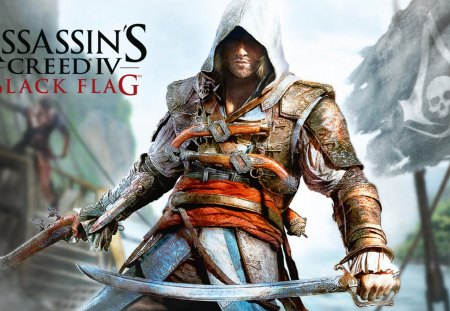 Assassins Creed 4 Black Flag - game, assassins creed 4, assassins creed, black flag