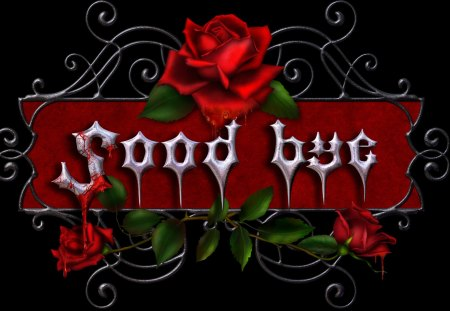 ✼Love with Roses Gothic✼ - red, pretty, wonderful, rose, beautiful, goodbye, gothic, clipart, lovely, colors, mind teasers, roses, blood, cute, word arts, flower, beloved valentines
