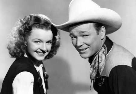 Roy Rogers and Dale Evans - movie, actress, couple, actor