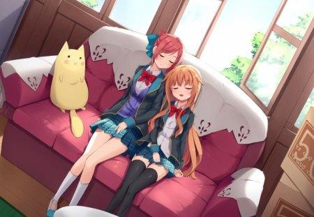 Sleeping Other Anime Background Wallpapers On Desktop Nexus Image 1444812