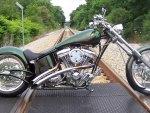 Harley On Tracks