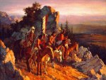 Gold Seekers To The Black  Hills