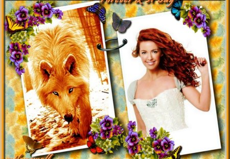 ...Forever & A Day! - redhead, companion, together, bonded, marriage, companions, mate, desire, devoted, love, union, tender, joined, romantic, romance, need, mtlonewolf, bond, deep, abiding, heart, passion, longing, wolf, want