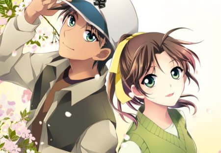 Shinichi Ran Other Anime Background Wallpapers On Desktop Nexus Image 1448626
