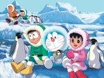 Doraemon Winter