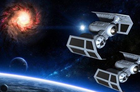 Star Wars Rockets Space Background Wallpapers On Desktop