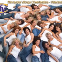 Minnesota Vikings Cheerleaders Veterans