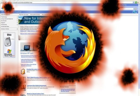 Firefox  burning up the internet - firefox, technology