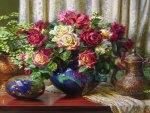 flowery pot
