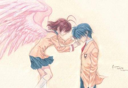 Nagisa And Tomoya Other Anime Background Wallpapers On Desktop