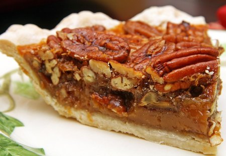 Mmmm Pecan Pie - abstract, filling, sweet, dessert, pecan, nuts, bakery, crust, pie