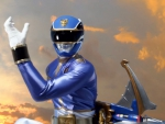 power rangers mega force wallpaper blue ranger