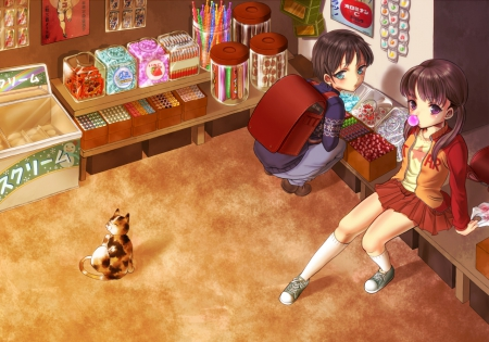 Candy Shop Other Anime Background Wallpapers On Desktop Nexus