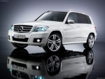 Mercedes GLK 350 Suv - Front