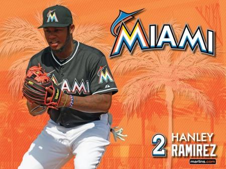 Miami Marlins Hanley Ramirez Wallpaper