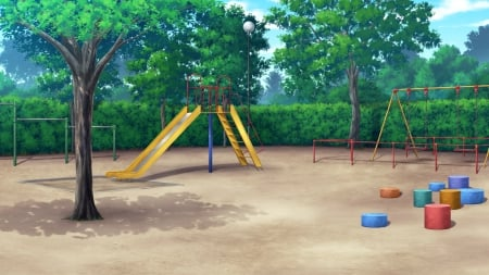 Playground Other Anime Background Wallpapers On Desktop