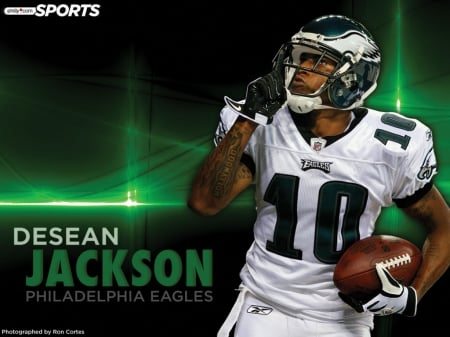 philadelphia eagles desean jackson wallpaper - philadelphia, football, eagles, wallpaper