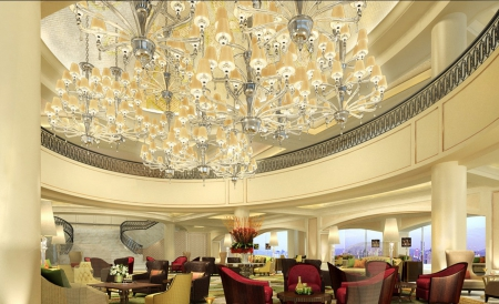 Luxury Hotel Lobby Other Architecture Background Wallpapers On